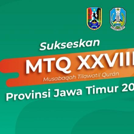 Sukseskan MTQ XXVIII - Jawa Timur