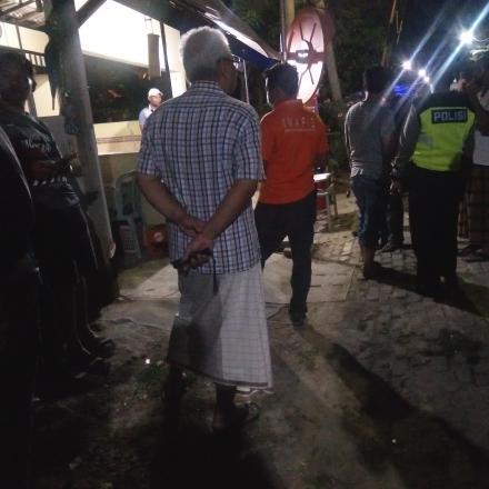 Petugas keamanan RW 07, meninggal di Pos jaga