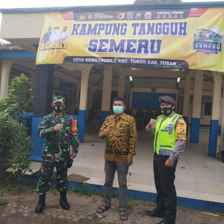 Optimalisasi Kampung Tangguh Semeru dan PPKM Mikro di Desa Kembangbilo